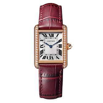 Cartier Tank Louis Cartier Ladies' Rose Gold Strap Watch - Product number 6341578