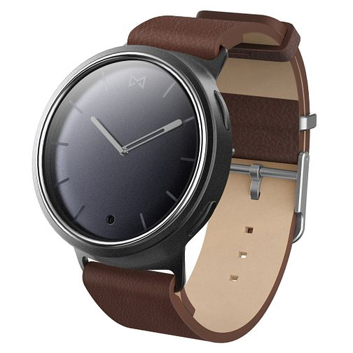 Misfit Men's Phase Brown Leather Strap Smartwatch - Product number 6347002