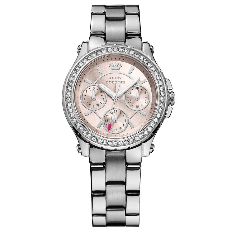 Juicy Couture Silver Stainless Steel Bracelet Watch - Product number 6347398