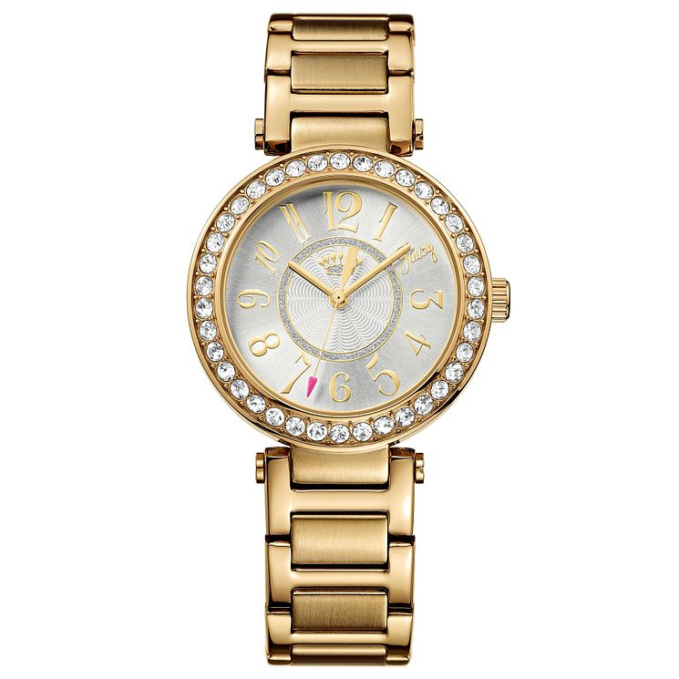 Juicy Couture Gold Plated Stainless Steel Bracelet Watch - Product number 6347495