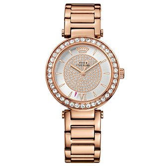 Juicy Couture Rose Gold Plated Staineless Steel Watch - Product number 6347606