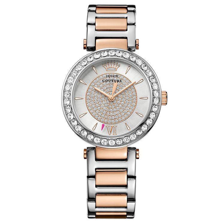 Juicy Couture Two Tone Stainless Steel Bracelet Watch - Product number 6347630