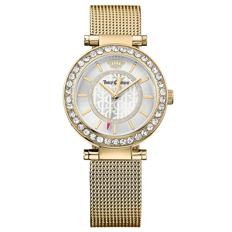 Juicy Couture Gold Plated Stainless Steel Bracelet Watch - Product number 6347649