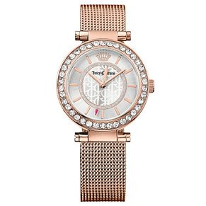 Juicy Couture Rose Gold Plated Staineless Steel Watch - Product number 6347657