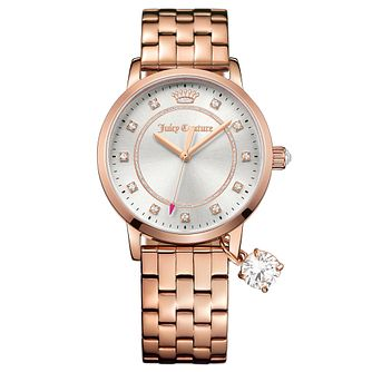 Juicy Couture Rose Gold Plated Staineless Steel Watch - Product number 6347797