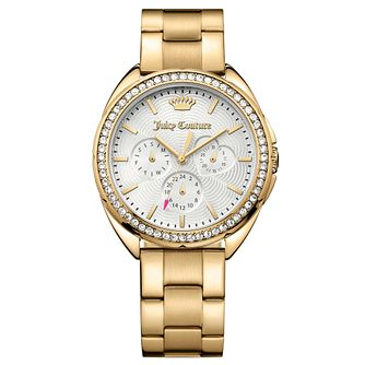 Juicy Couture Gold Plated Stainless Steel Bracelet Watch - Product number 6347800
