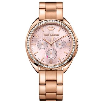 Juicy Couture Rose Gold Plated Staineless Steel Watch - Product number 6347819