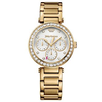 Juicy Couture Gold Plated Stainless Steel Bracelet Watch - Product number 6347894
