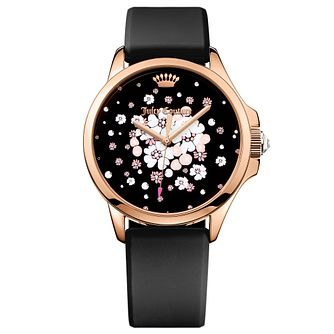 Juicy Couture Black Siliconee Strap Watch - Product number 6347940