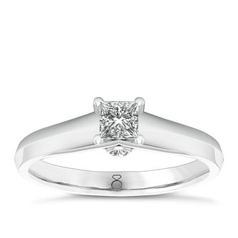 The Diamond Story 18ct White Gold 1/3ct Diamond Ring - Product number 6358942