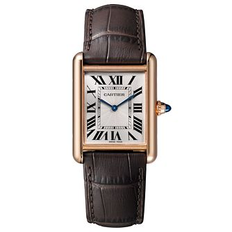 Cartier Tank Louis Cartier Men's Rose Gold Strap Watch - Product number 6369766