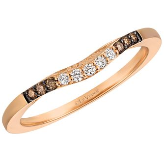 Le Vian 14ct Strawberry Gold Diamond Band - Product number 6370128