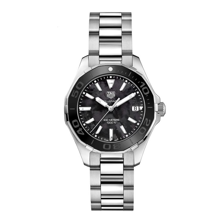 TAG Heuer Aquaracer Ladies' Stainless Steel Bracelet Watch - Product number 6378935