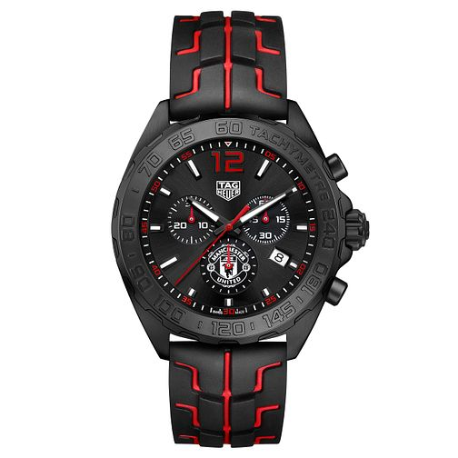 TAG Heuer Manchester United Formula 1 Men's Strap Watch - Product number 6379028