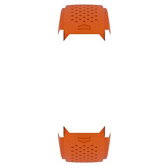 TAG Heuer Connected Modular 45 Orange Rubber Strap - Product number 6380514