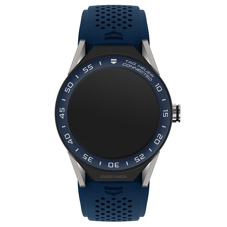TAG Heuer Connected Modular 45 Blue Strap Smart Watch - Product number 6380581