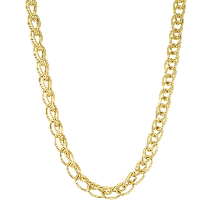 9ct Yellow Gold Link Chain - Product number 6383149