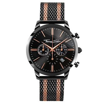 Thomas Sabo Rebel Spirit Chrono Men's Two Colour Watch - Product number 6383564