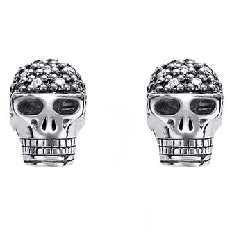 Thomas Sabo Rebel at heart Skull Diamond Stud Earrings - Product number 6391303