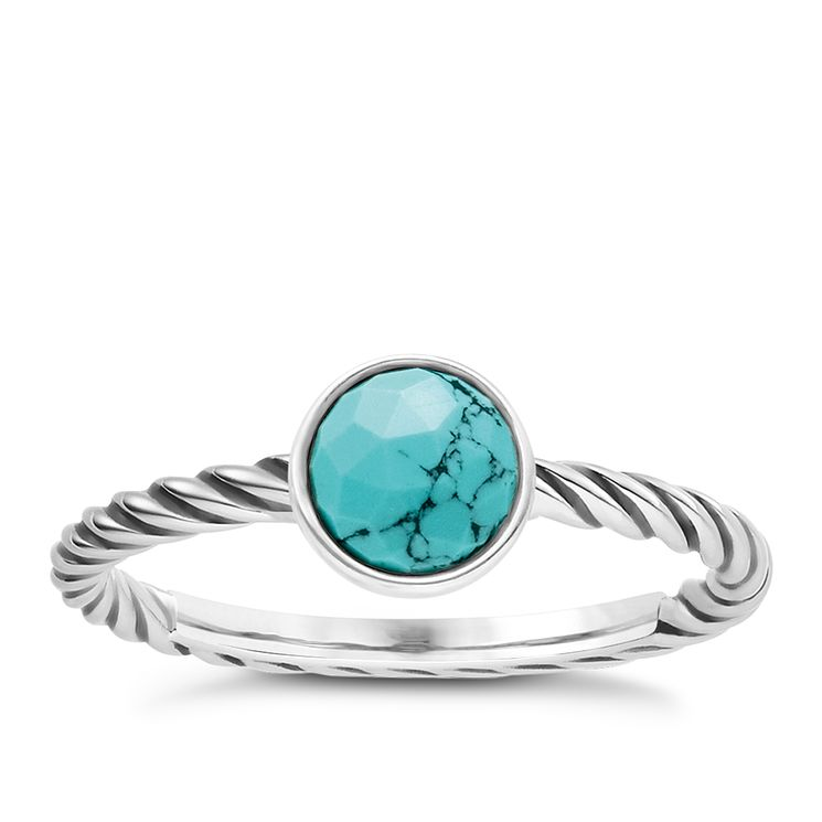 Thomas Sabo Turquoise Ethnic Ring Size M - Product number 6391494