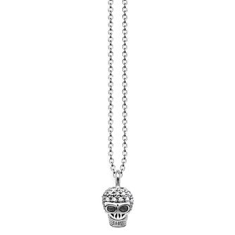 Thomas Sabo Diamond Pavé Mini Skull Necklace - Product number 6391567