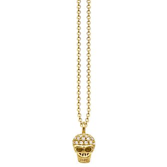 Thomas Sabo Diamond Miniature Skull Necklace - Product number 6391575