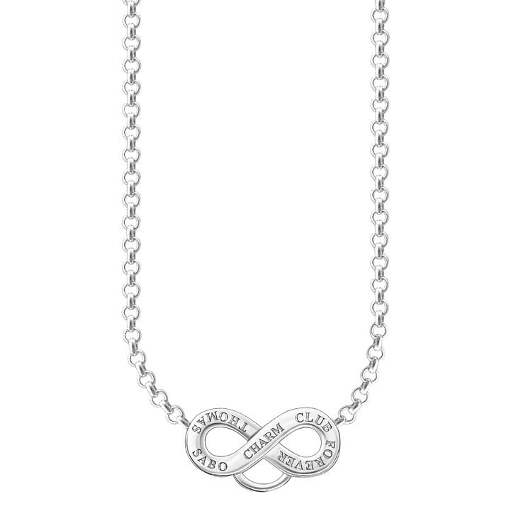 Thomas Sabo Charm Club Infinity Charm Necklace - Product number 6391613