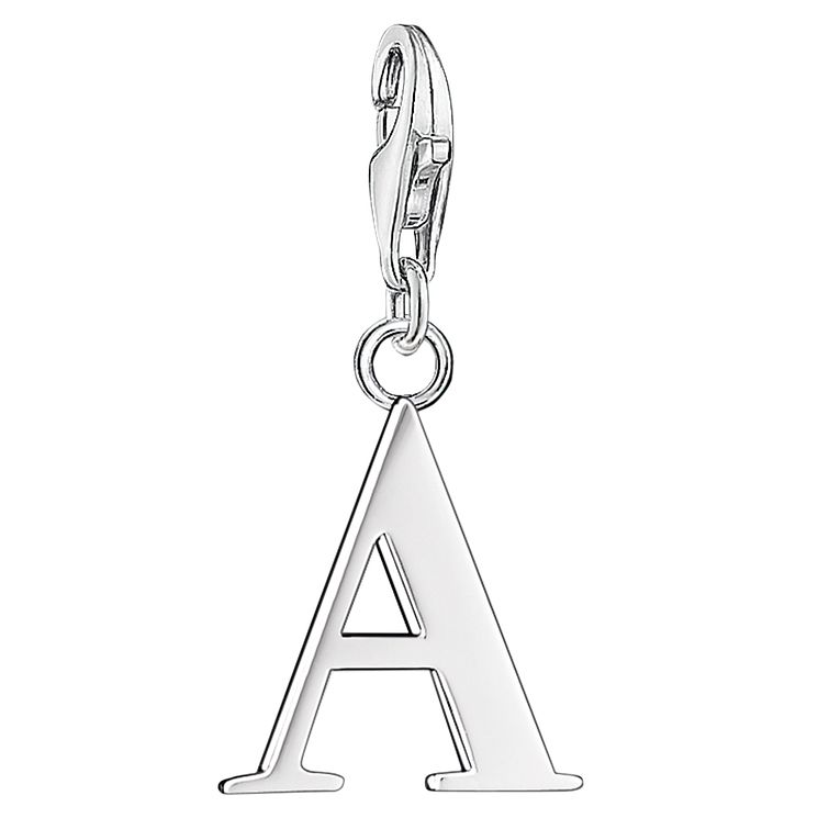 "Thomas Sabo Charm Club Letter ""A"" Charm - Product number 6391753"