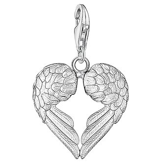 Thomas sabo beads charms ernest jones thomas sabo charm club wings of an angel charm product number 6394507 mozeypictures Gallery