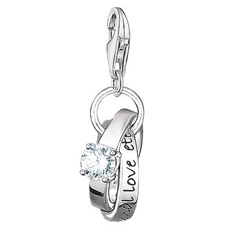 Thomas Sabo Charm Club Wedding Rings Charm - Product number 6394515
