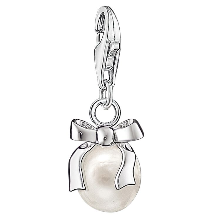 Thomas Sabo Charm Club Pearl With Ribbon Charm - Product number 6394590
