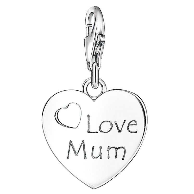 "Thomas Sabo Charm Club ""Love Mum"" Charm - Product number 6394892"
