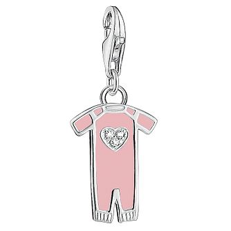 Thomas Sabo Charm Club Pink Baby Suit Charm - Product number 6395511