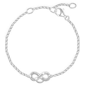 Thomas Sabo Charm Club Infinity Charm Bracelet - Product number 6395635