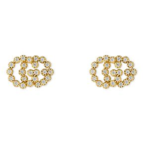 Gucci Icon 18ct Yellow Gold  Stud diamond Earrings - Product number 6395813