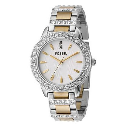 Fossil Ladies' Two Tone Stainless Steel Bracelet Watch - Product number 6406815