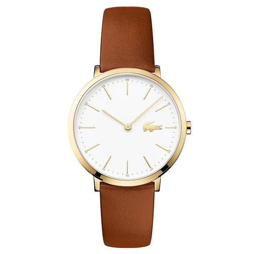 Lacoste Ladies' Brown Leather Strap Watch - Product number 6412017