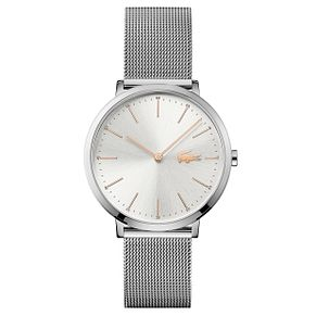 Lacoste Ladies' Stainless Steel Mesh Bracelet Watch - Product number 6412084