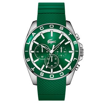 Lacoste Men's Green Silicon Strap Watch - Product number 6412092