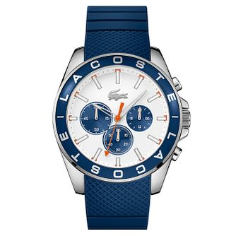 Lacoste Men's Blue Silicon Strap Watch - Product number 6412106
