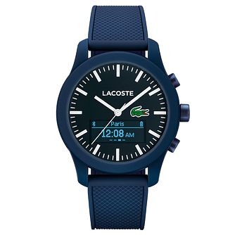 Lacoste Men's Blue Silicon SmartWatch - Product number 6412203