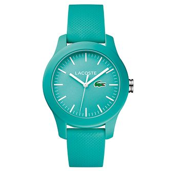 Lacoste Ladies' Turquoise Silicone Strap Watch - Product number 6412319
