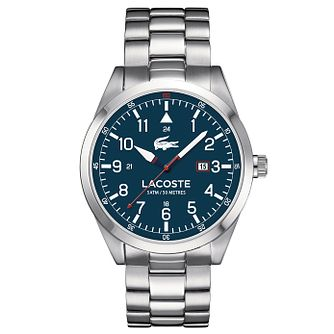 Lacoste Men's Stainless Steel Mesh Bracelet Watch - Product number 6412386