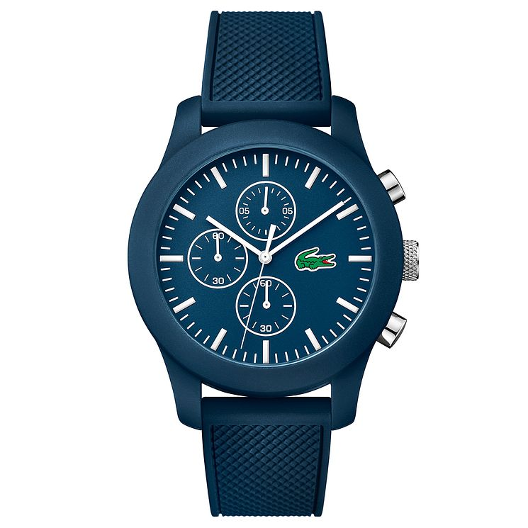 Lacoste Men's Blue Silicone Strap Watch - Product number 6412408