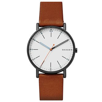 Skagen Mens' Ion Plated Strap Watch - Product number 6412718