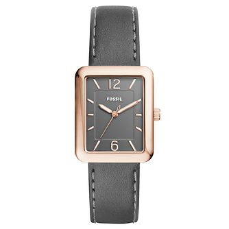 Fossil Ladies' Rose Gold Tone Strap Watch - Product number 6413080