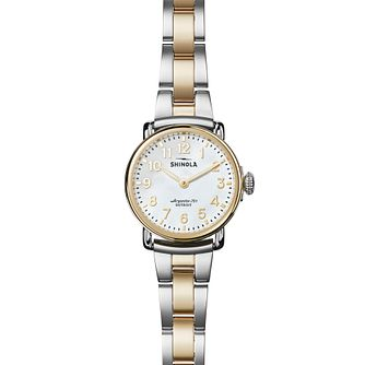 Shinola Runwell 28 Ladies' Two Colour Bracelet Watch - Product number 6413366