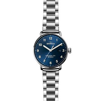 Shinola Canfield Men's Stainless Steel Bracelet Watch - Product number 6413404