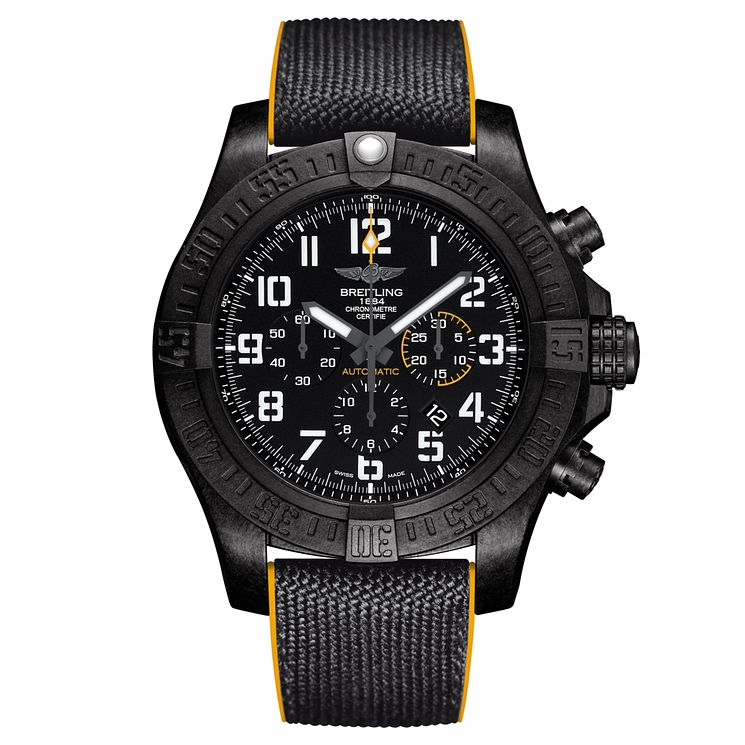 Breitling Avenger Hurricane Men's Ion Plated Strap Watch - Product number 6414206