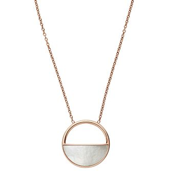 Skagen Elin Rose Gold Tone Pendant - Product number 6415164